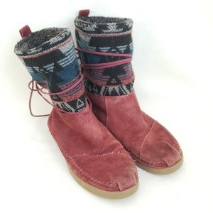Toms Nepal Boots Womens Size 8